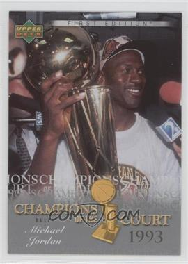 2007-08 Upper Deck First Edition Champions of the Court #CC-MJ - Michael Jordan