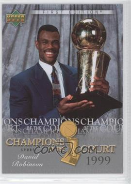 2007-08 Upper Deck First Edition Champions of the Court #CC-RO - David Robinson
