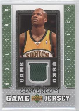 2007-08 Upper Deck Game Jersey #GJ-RA - Ray Allen