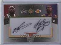 LeBron James, Kobe Bryant /15