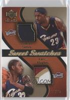 LeBron James, Larry Hughes /25