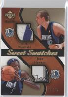Josh Howard, Dirk Nowitzki /25