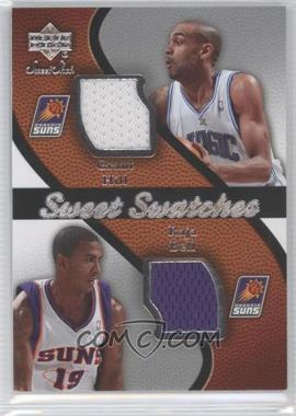 2007-08 Upper Deck Sweet Shot Sweet Swatches Memorabilia #SW-HB - Grant Hill, Raja Bell