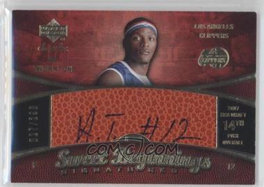 2007-08 Upper Deck Sweet Shot #95 - Al Thornton /299
