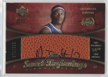 2007-08 Upper Deck Sweet Shot #95 - Sweet Beginnings Signatures - Al Thornton /299
