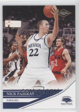 2007 Press Pass Collectors Series #11 - Nick Fazekas