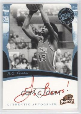 2007 Press Pass Legends Autographs [Autographed] #ACGR.1 - A.C. Green (Red Ink)