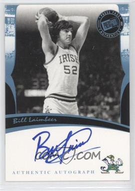 2007 Press Pass Legends Autographs [Autographed] #BILA - Bill Laimbeer