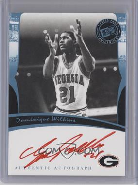 2007 Press Pass Legends Autographs [Autographed] #DOWI.1 - Dominique Wilkins (Red Ink)