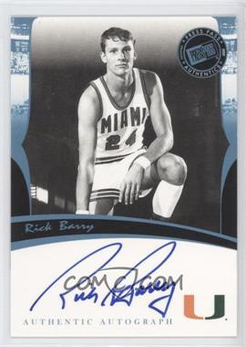 2007 Press Pass Legends Autographs [Autographed] #RIBA - Rick Barry