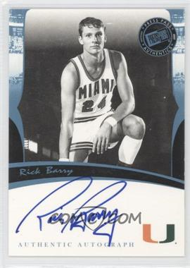 2007 Press Pass Legends Autographs [Autographed] #RIBA - Rick Barry