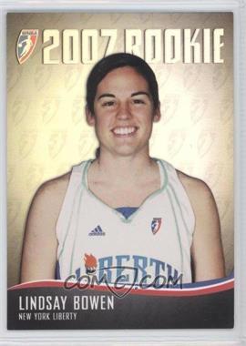 2007 Rittenhouse WNBA 2007 Rookie #RC27 - Lindsay Bowen /444