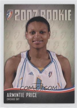 2007 Rittenhouse WNBA 2007 Rookie #RC3 - Armintie Price /444