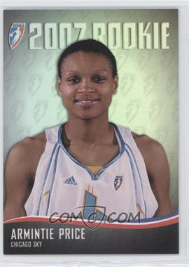 2007 Rittenhouse WNBA 2007 Rookie #RC3 - Armintie Price /444
