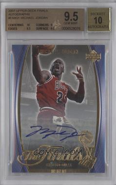 2007 Upper Deck The Finals Autograph [Autographed] #FA-MJ1 - Michael Jordan [BGS 9.5]