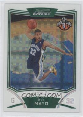 2008-09 Bowman Draft Picks & Stars - Chrome - X-Fractor #113 - O.J. Mayo /299