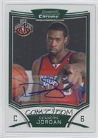 NBA Rookie Card Autograph - DeAndre Jordan