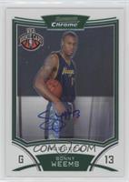 NBA Rookie Card Autograph - Sonny Weems