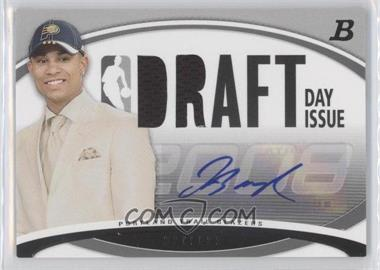2008-09 Bowman Draft Picks & Stars - Draft Day Issue Relics - Autograph [Autographed] #DDIA-JB - Jerryd Bayless /75