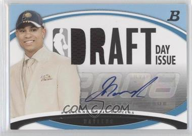 2008-09 Bowman Draft Picks & Stars - Draft Day Issue Relics - Blue Autograph [Autographed] #DDIA-JB - Jerryd Bayless /50