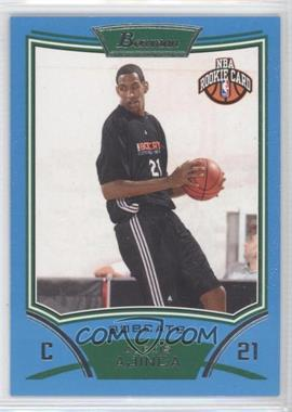 2008-09 Bowman Draft Picks & Stars Blue #129 - Alexis Ajinca /499