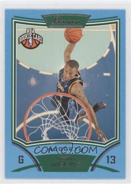 2008-09 Bowman Draft Picks & Stars Blue #146 - Sonny Weems /499