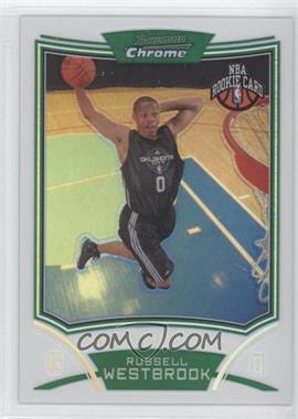 2008-09 Bowman Draft Picks & Stars Chrome Refractor #114 - Russell Westbrook /499