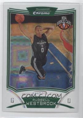 2008-09 Bowman Draft Picks & Stars Chrome X-Fractor #114 - Russell Westbrook /299