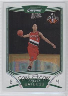2008-09 Bowman Draft Picks & Stars Chrome X-Fractor #121 - Jerryd Bayless /299