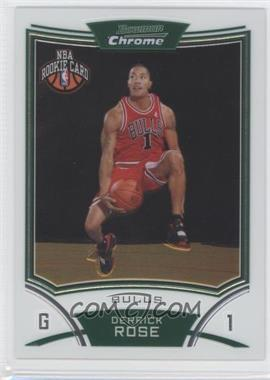 2008-09 Bowman Draft Picks & Stars Chrome #111 - NBA Rookie Card - Derrick Rose
