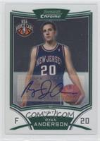 NBA Rookie Card Autograph - Ryan Anderson
