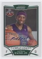 NBA Rookie Card Autograph - Patrick Ewing Jr.