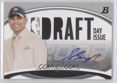 2008-09 Bowman Draft Picks & Stars Draft Day Issue Relics Autograph [Autographed] #DDIA-JB - Jerryd Bayless /75