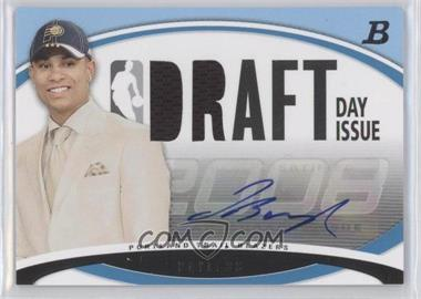 2008-09 Bowman Draft Picks & Stars Draft Day Issue Relics Blue Autograph [Autographed] #DDIA-JB - Jerryd Bayless /50