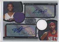 Chris Bosh, Vince Carter /25