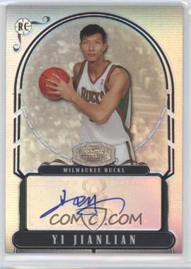 2008-09 Bowman Sterling Refractors #YJ - Yi Jianlian /99