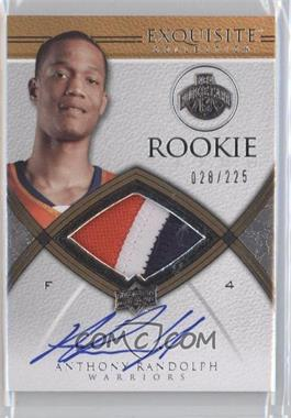2008-09 Exquisite Collection - [Base] #67 - Anthony Randolph /225