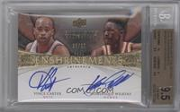 Vince Carter, Dominique Wilkins /25 [BGS 9.5]