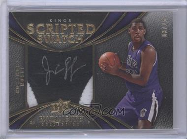 2008-09 Exquisite Collection Scripted Swatches #SCRP-JT - Jason Thompson /25