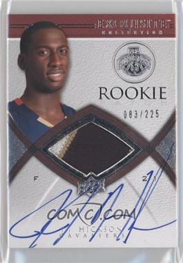 2008-09 Exquisite Collection #72 - J.J. Hickson /225