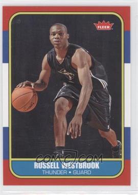 2008-09 Fleer - 1986-87 Retro Rookies #86R-166 - Russell Westbrook