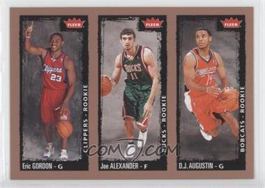 2008-09 Fleer - [Base] #238 - Eric Gordon, Joe Alexander, D. J. Augustin