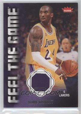 2008-09 Fleer - Feel the Game Memorabilia #FG-KB - Kobe Bryant