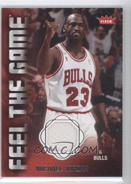 2008-09 Fleer - Feel the Game Memorabilia #FG-MJ - Michael Jordan