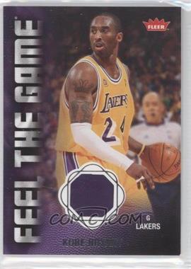 2008-09 Fleer Feel the Game Memorabilia #FG-KB - Kobe Bryant
