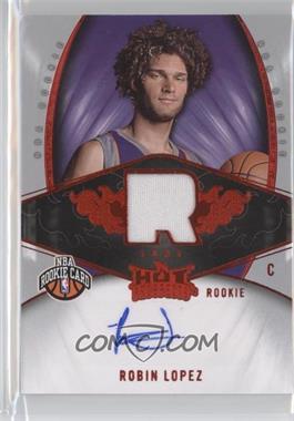 2008-09 Fleer Hot Prospects - [Base] - Red #119 - Robin Lopez /25