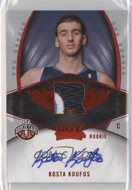 2008-09 Fleer Hot Prospects - [Base] - Red #126 - Kosta Koufos /25