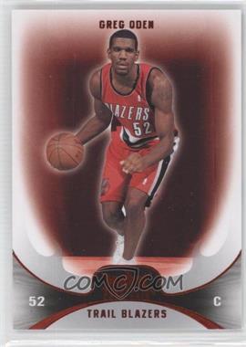 2008-09 Fleer Hot Prospects - [Base] - Red #68 - Greg Oden /25