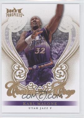 2008-09 Fleer Hot Prospects - Cream Of The Crop #CC-25 - Karl Malone
