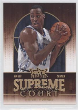 2008-09 Fleer Hot Prospects - Supreme Court #SC-13 - Dwight Howard